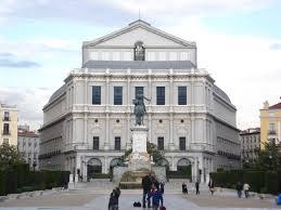 Resultado de imagen de teatro real madrid