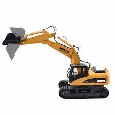 <b>HuiNa Toys</b> 1550 15 Channel 2.4G 1/12 RC Metal Excavator ...