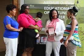 program provides support for teen moms the buffalo news from left janice white executive director of true community development corp kiari walker and her daughter kaimaris long lashunda leslie smith