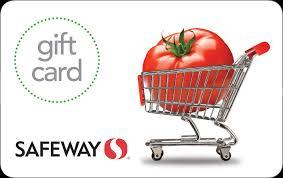 Safeway Stores Gift Card