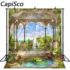 Capisco Seaside Palace Pavilion <b>Garden</b> Landscape <b>Photography</b> ...