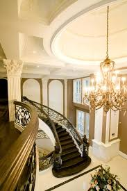 foyers staircases and mansions on pinterest beautiful custom interior stairways