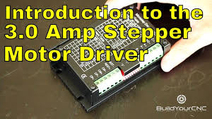 How to Use the 3.0 Amp <b>Stepper Motor Driver</b> - YouTube