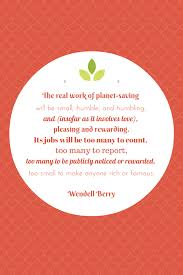 wendell berry wonderthrift pin it