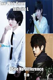 Look Alike Lee Won Geun n Infinite L O.o | allkpop Meme Center via Relatably.com