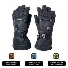 <b>Electric Heated Gloves Battery</b> Powered Touchscreen Winter Sport ...