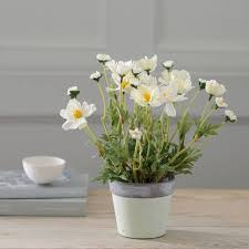 Little <b>Artificial</b> Potted Cosmos <b>Plant</b>   <b>Artificial</b> garden <b>plants</b>, <b>Artificial</b> ...