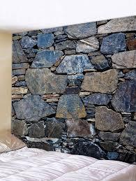 <b>Stones Wall Print</b> Tapestry Wall Art Decor - multicolor W91 INCH ...