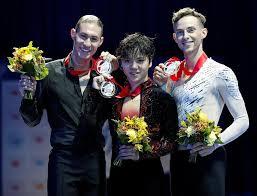 medalists shoma uno jason brown adam rippon jason brown shoma uno and adam rippon