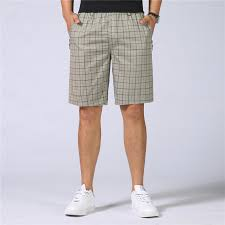 <b>Men Shorts</b> Summer <b>Fashion British Style</b> Plaid Casual <b>Shorts Mens</b> ...
