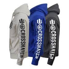 Mens <b>Hoodie Crosshatch</b> Bringer Sweater Fleece Lined Sweatshirt ...