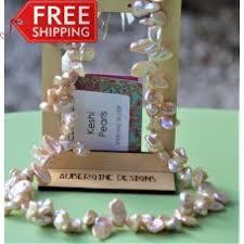free shipping genuine natural 21mm black baroque reborn keshi pearl necklace f2428