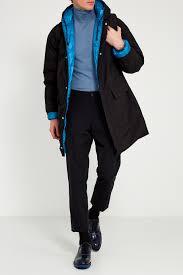 Голубой <b>пуховик Prada</b> мужской с капюшоном – купить в ...