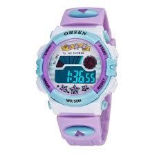 Aubig <b>Colorful</b> Watch <b>Outdoor</b> Sports Boys Girls LED Digital Alarm ...