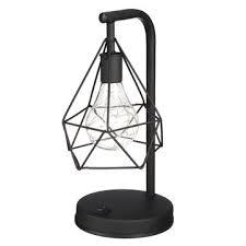 diamond shape pvc <b>led night light modern</b> table bedroom home ...