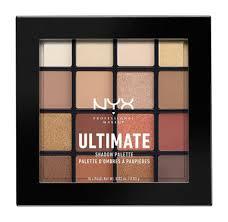 NYX Professional Make Up Ultimate Shadow Palette 03 <b>Warm</b> ...