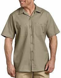 <b>Dickies</b> мужская коротким рукавом работа рубашка ...