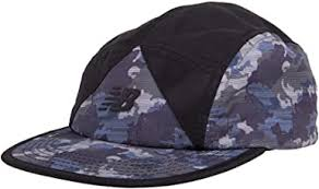 New Balance 5-Panel Camper Color Block <b>Archive Hat</b> Camo Green