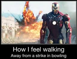 Is this how you feel walking away from a #strike? #GoBowling ... via Relatably.com