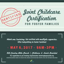 joint babysitting certification hill country bible church austin foster care babysitting certification trainin