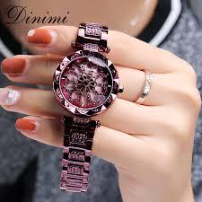Dimini <b>Fashion Luxury</b> Women Watches Diamond Lady Watch ...