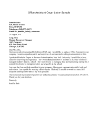 office cover letter template office cover letter assistant sample cover letters for medical assistant