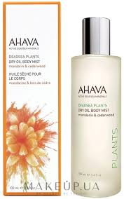 Ahava Dry Oil Body Mist Mandarin & Cedarwood - <b>Сухое масло для</b> ...