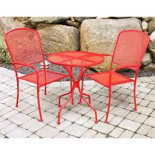 crossman piece outdoor bistro: buy mainstays crossman  piece outdoor bistro set ii with arms seats