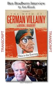 the myth of german villainy author ben bradberry interview ben bradberry cover ver 1