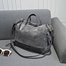2017 <b>Women's Shoulder Bag</b> Nubuck Leather <b>Vintage</b> Messenger ...