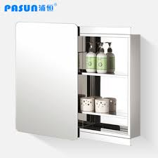sliding bathroom mirror: get quotations middot stainless steel bathroom cabinet sideshows sliding door bathroom mirror cabinet mirror cabinet storage lockers phj