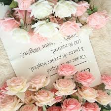 Feel <b>moisturizing rose artificial flower</b> home decoration wedding ...