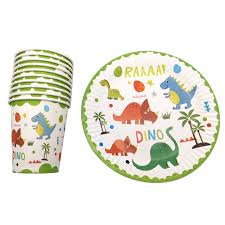 <b>60PCS</b>/<b>lot</b> Happy Birthday <b>Party</b> Napkins Cartoon Dinosaur Theme ...