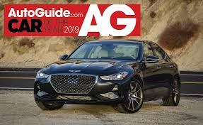 Genesis G70 Wins AutoGuide.com 2019 Car of the Year ...