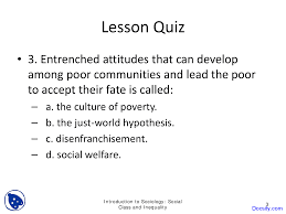 social class and inequality basics of sociology quiz this is only a preview