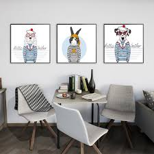 fashion no frame wall decorations 2pcs set modern abstract decoration canvas print artist decoration