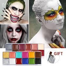 Online Shop Pro 6 Color Halloween Crayon Party Face <b>Paint Body</b> ...