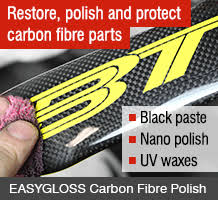 Woven Finish Carbon Fibre Tube - Easy Composites