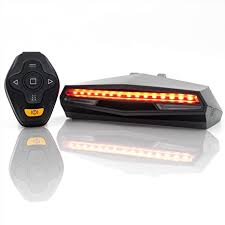 Ampulla Rechargeable <b>Bike</b> Tail <b>Light</b> LED - <b>Remote</b> Control ...