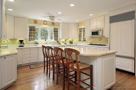 walls kitchen white cabinets