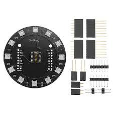 3Pcs <b>X</b>-<b>Ring RGB WS2812b LED</b> Module For RGB Built-in LED 12 ...