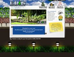 web design and development cleveland and columbus ohio eli s landscaping cleveland ohio personal business services