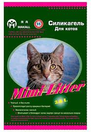 Впитывающий <b>наполнитель Mimi Litter Силикагель</b> Для котов 7.2 л