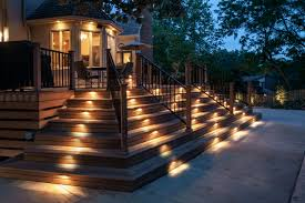 external lighting ideas outdoor stair lighting home decor beautiful outdoor lighting