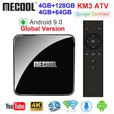 Comprar <b>MECOOL KM3 ATV</b> Androidtv 9.0 Certificada <b>Google</b> ...