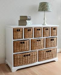 white storage unit wicker: tetbury storage unit large chest of drawers storage baskets fully assembled ebay