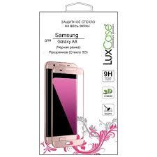 Защитное стекло <b>LuxCase 3D</b> для Samsung Galaxy A8 - купить по ...