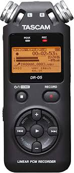 TASCAM DR-05 Portable Digital Recorder (Version 2 ... - Amazon.com