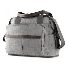 <b>Сумка для коляски Inglesina</b> DUAL <b>BAG</b>, цвет M.GREY MELANGE ...