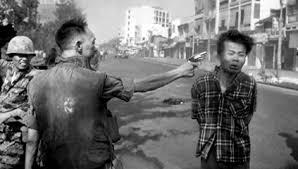 Adam's photograph of Nguyen Lgoc loan Executing Ngyuen Van Lem